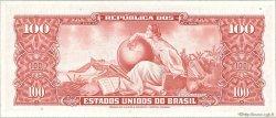 10 Centavos sur 100 Cruzeiros BRÉSIL  1966 P.185b NEUF
