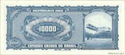 10 Cruzeiros Novos sur 10000 Cruzeiros BRÉSIL  1966 P.189c NEUF