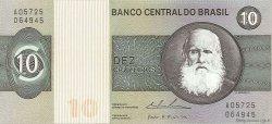 10 Cruzeiros BRÉSIL  1974 P.193b NEUF
