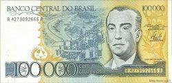 100000 Cruzeiros BRÉSIL  1985 P.205a NEUF