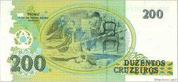 200 Cruzados Novos BRÉSIL  1990 P.229 NEUF