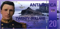 20 Dollars ANTARCTICA  2008  NEUF