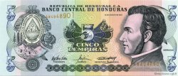 5 Lempiras HONDURAS  2004 P.085d NEUF
