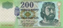 200 Forint HONGRIE  2004 P.187d NEUF