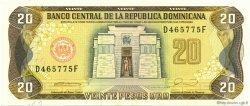 20 Pesos Oro RÉPUBLIQUE DOMINICAINE  1990 P.133 NEUF