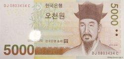 5000 Won CORÉE DU SUD  2006 P.55a NEUF