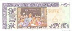 5 Quetzales GUATEMALA  2006 P.106b NEUF