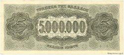 5000000 Drachmes GRÈCE  1944 P.128a SPL