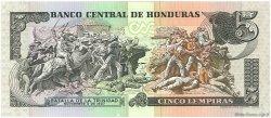 5 Lempiras HONDURAS  1994 P.063d NEUF