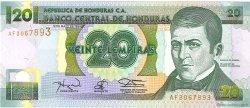 20 Lempiras HONDURAS  1994 P.073c NEUF