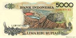 5000 Rupiah INDONÉSIE  1997 P.130f pr.NEUF