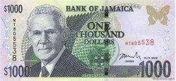 1000 Dollars JAMAÏQUE  2008 P.86f NEUF
