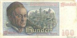 100 Deutsche Mark ALLEMAGNE FÉDÉRALE  1948 P.15a TB