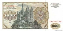 1000 Mark ALLEMAGNE  1977 P.036a pr.SPL