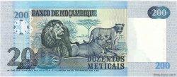200 Meticais MOZAMBIQUE  2006 P.146a NEUF