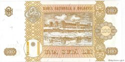 100 Lei MOLDAVIE  2008 P.15b NEUF