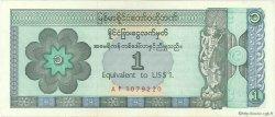 1 Dollar MYANMAR  1993 P.FX01 SUP à SPL