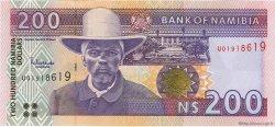 200 Namibia Dollars NAMIBIE  2003 P.10b pr.NEUF