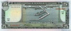 25 Colones SALVADOR  1980 P.130b NEUF