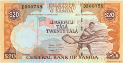 20 Tala SAMOA  2002 P.35b NEUF