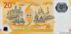 20 Dollars SINGAPOUR  2007 P.53 NEUF