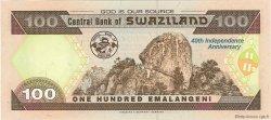 100 Emalangeni SWAZILAND  2008 P.34 NEUF