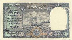 10 Rupees INDE  1943 P.024 SPL