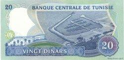 20 Dinars TUNISIE  1983 P.81 pr.NEUF