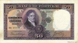 50 Escudos PORTUGAL  1929 P.144 pr.TTB