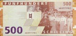500 Schilling AUTRICHE  1997 P.154 TTB