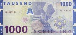 1000 Schilling AUTRICHE  1997 P.155 TTB