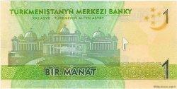 1 Manat TURKMÉNISTAN  2009 P.22a NEUF