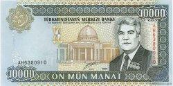 10000 Manat TURKMÉNISTAN  2000 P.14 NEUF