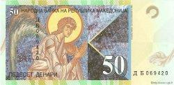 50 Denari MACÉDOINE  2007 P.15e NEUF