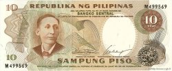 10 Piso PHILIPPINES  1969 P.144a NEUF