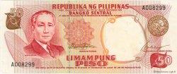 50 Piso PHILIPPINES  1969 P.146a SPL+