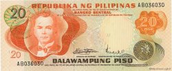 20 Piso PHILIPPINES  1970 P.150a NEUF