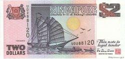 2 Dollars SINGAPOUR  1997 P.34 NEUF