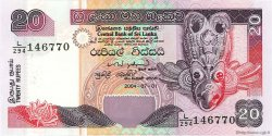 20 Rupees SRI LANKA  2004 P.116c NEUF