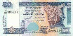 50 Rupees SRI LANKA  2006 P.117e NEUF