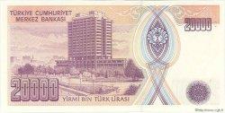 20000  Lira TURQUIE  1995 P.202 pr.NEUF