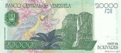 20000 Bolivares VENEZUELA  1998 P.082 NEUF