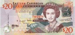 20 Dollars CARAÏBES  2008 P.49 pr.NEUF