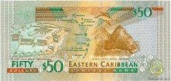 50 Dollars CARAÏBES  2008 P.50 pr.NEUF