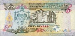 50 Dinars JORDANIE  1999 P.33a NEUF