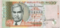 100 Rupees ÎLE MAURICE  2007 P.56b NEUF
