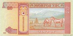20 Tugrik MONGOLIE  2005 P.63c NEUF