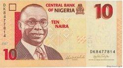 10 Naira NIGERIA  2007 P.33 NEUF