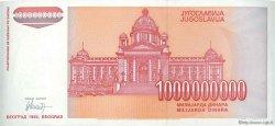 1000000000 Dinara YOUGOSLAVIE  1993 P.126 NEUF
