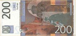 200 Dinara YOUGOSLAVIE  2001 P.157 NEUF